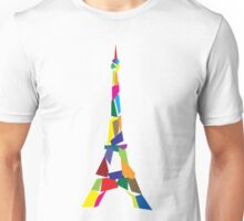 Eiffel tower abstract - Paris, France Unisex T-Shirt