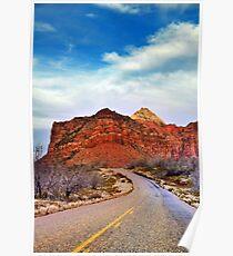 Road to Kolob Reservoir Poster