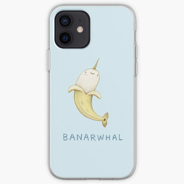 Banarwhal iPhone Soft Case