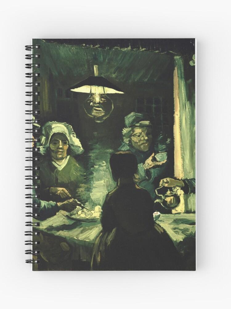 Vincent van Gogh - Los comedores de patatas | Cuaderno de espiral