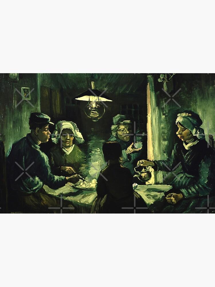 Vincent van Gogh - Los comedores de patatas | Vinilo para portátil