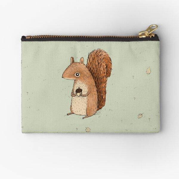 Sarah the Squirrel Zipper Pouch
