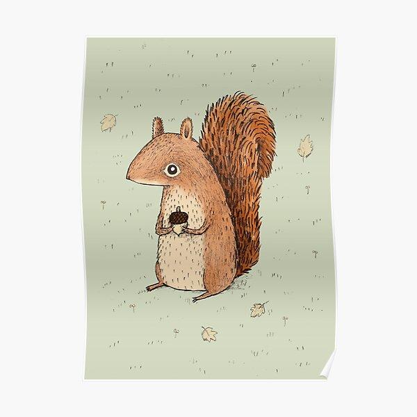 Sarah the Squirrel Poster