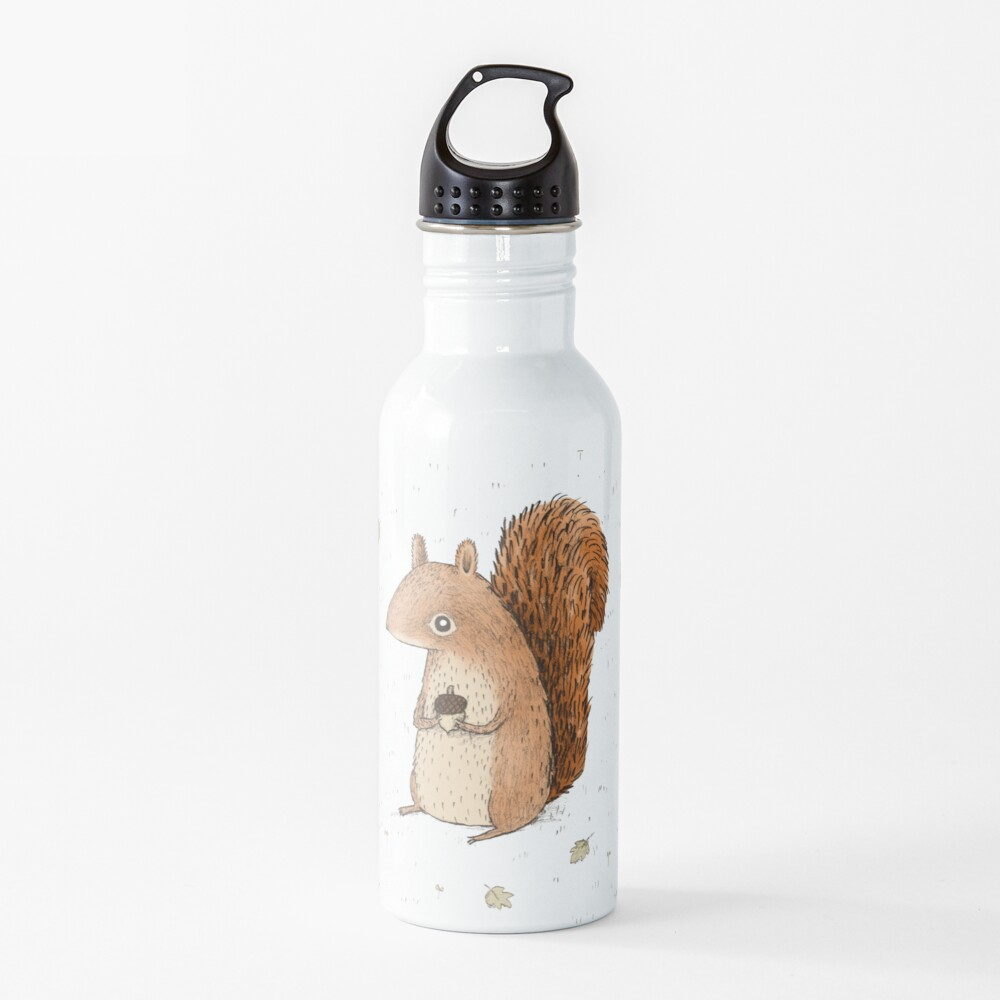 Sarah the Squirrel Water Bottle