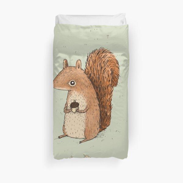 Sarah the Squirrel Duvet Cover