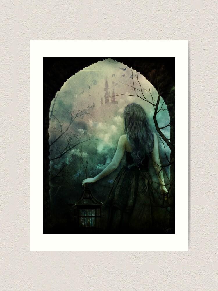 Alternate view of Morgan le Fay Art Print
