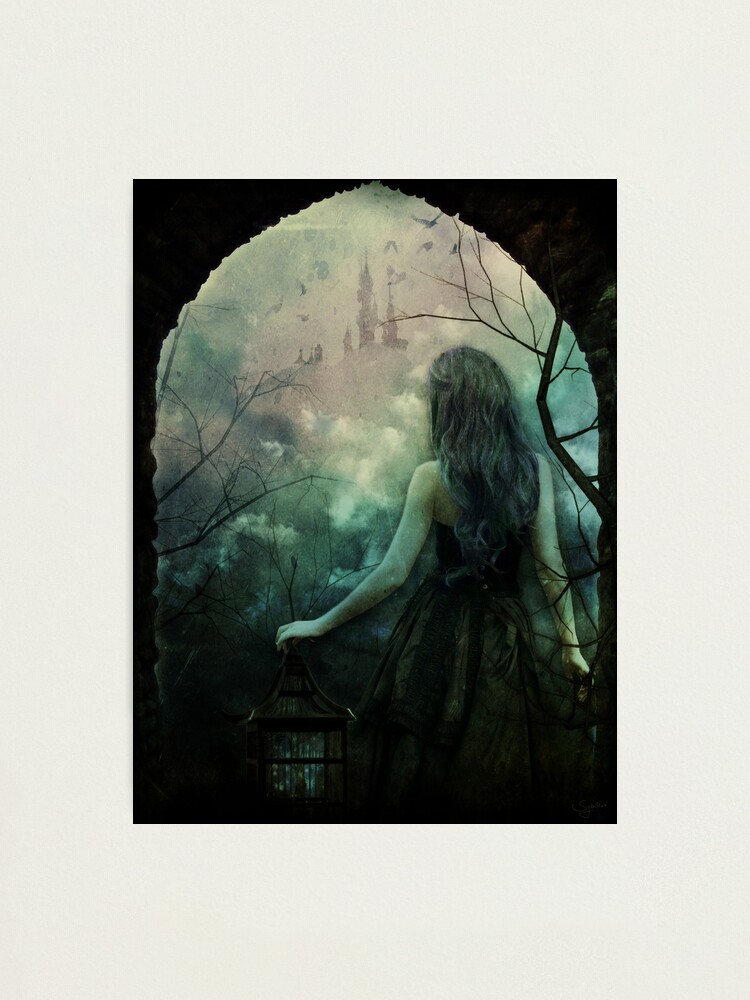 Alternate view of Morgan le Fay Photographic Print