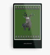 Mossy Christmas II Metal Print