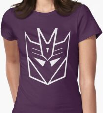 Splatfest Team Decepticons v.2 Womens Fitted T-Shirt