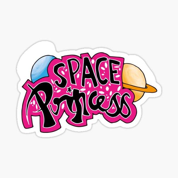 Space Princess Sticker