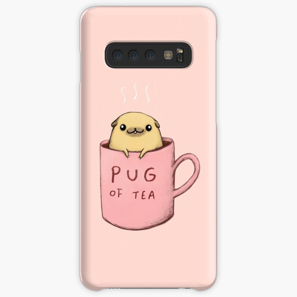 Pug of Tea Case & Skin for Samsung Galaxy