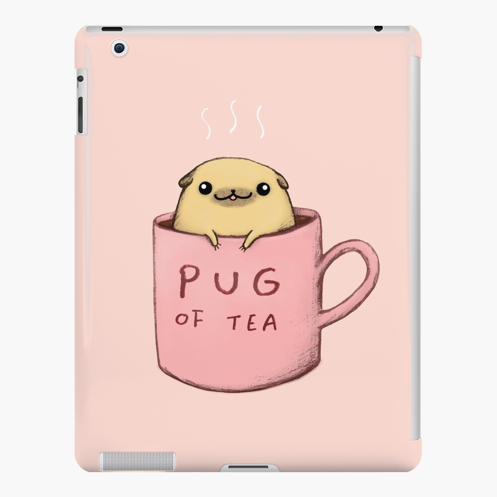 Pug of Tea iPad Case & Skin