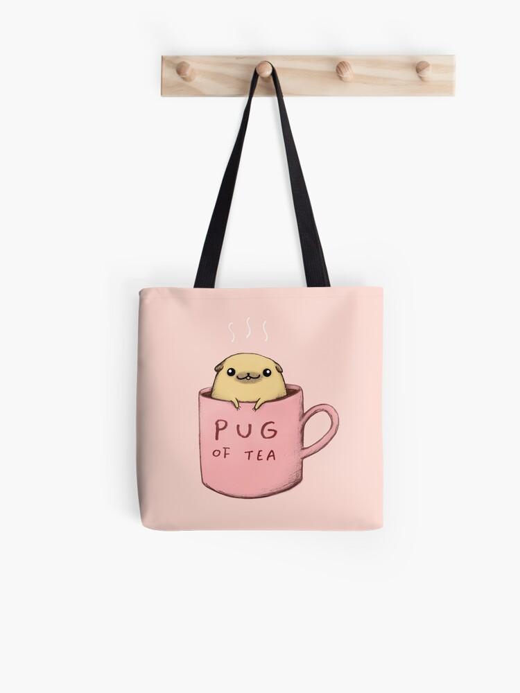 LEINTEREST Colorful Pug Women Top Handbag Shoulder Bag