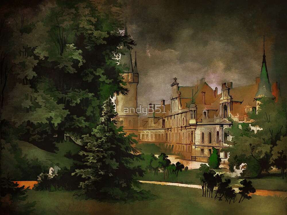 Bożków Castle...1890 y by andy551