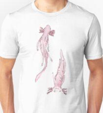 Axolotl friends Unisex T-Shirt