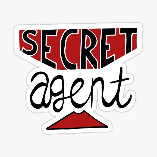 Secret Agent Sticker