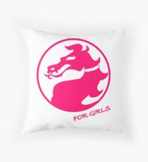Mortal Kombat for Girls Throw Pillow