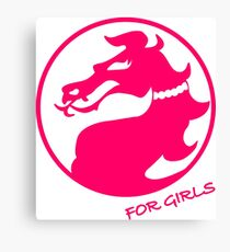 Mortal Kombat for Girls Canvas Print