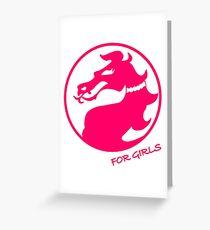 Mortal Kombat for Girls Greeting Card
