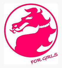 Mortal Kombat for Girls Photographic Print