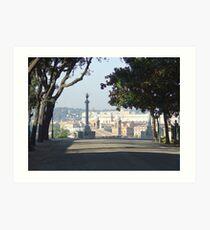 Rome from Villa Borghese Art Print