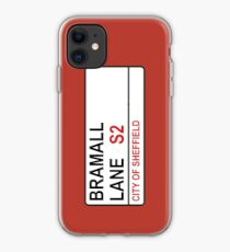Sheffield Bramall Lane Road Sign iPhone Case