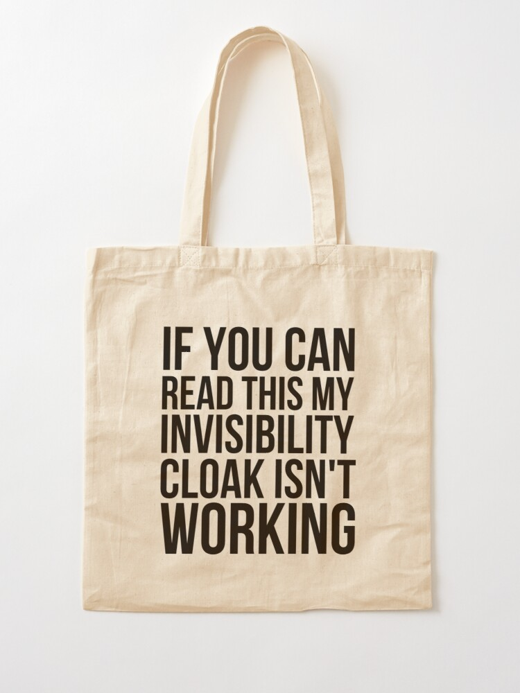 Alternate view of Can you read this? Tote Bag