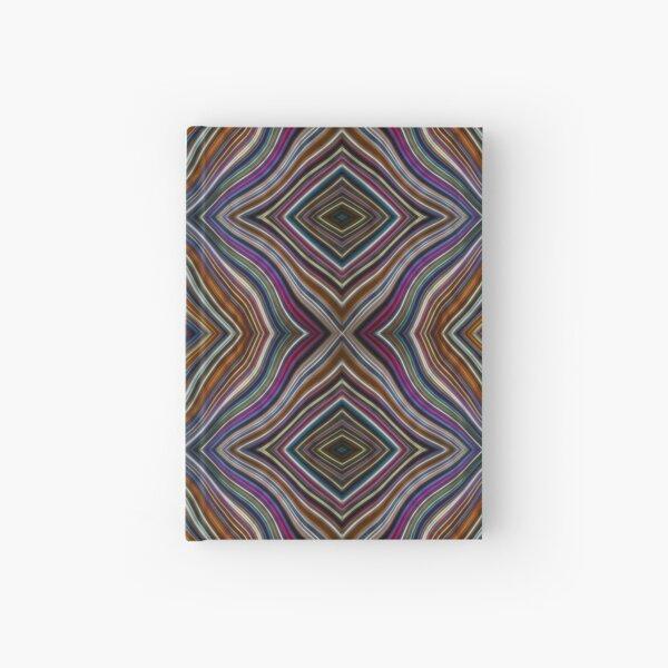 Wild Wavy Patchwork 44 Hardcover Journal