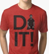 Shia Lebouf Do It Tri-blend T-Shirt