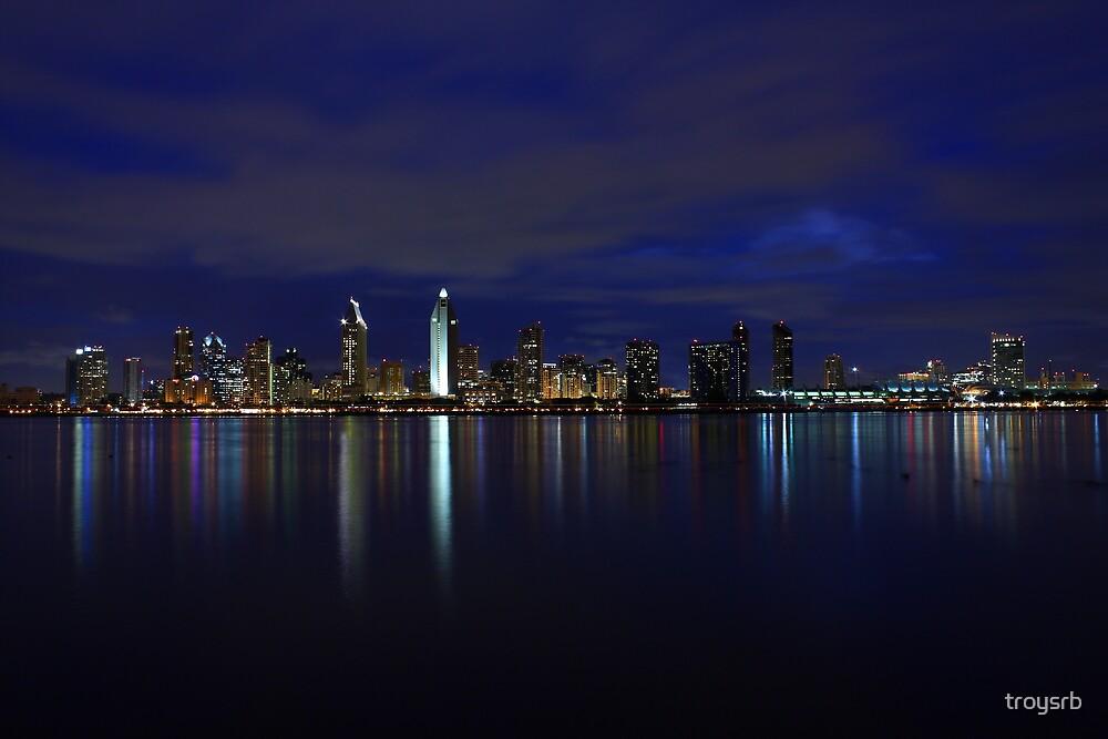 San Diego Skyline by Troy Gooch