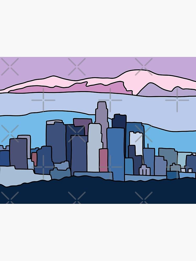 L.A. skyline by Elebea by elebea