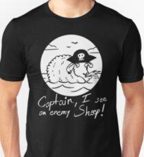 I see an enemy Sheep! - Black Edition Unisex T-Shirt