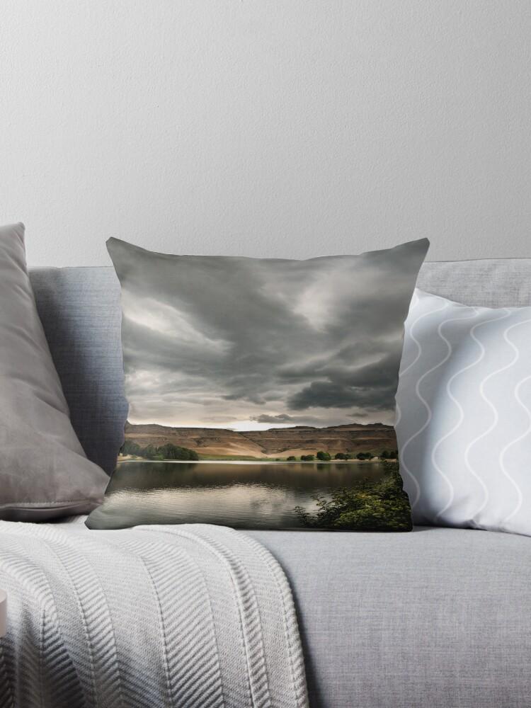 Drakensberg storm clouds, Kwazulu Natal, South Africa by Sharon Bishop