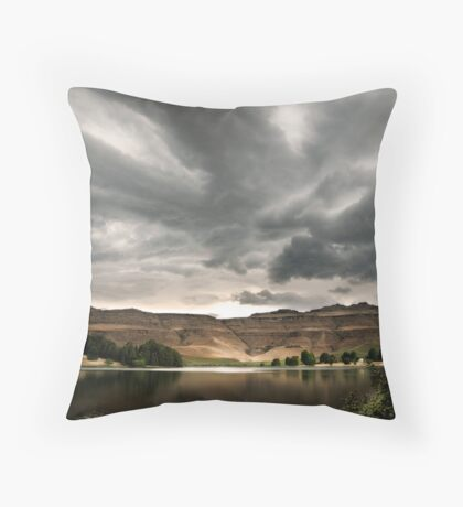 Drakensberg storm clouds, Kwazulu Natal, South Africa Throw Pillow