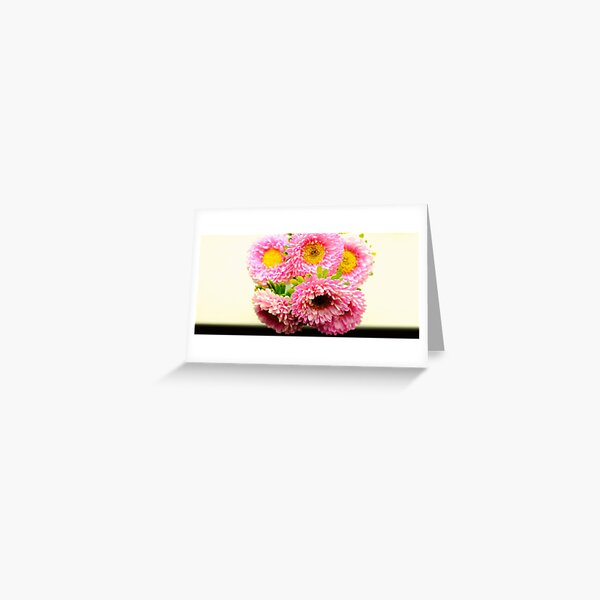 Bunch of Asters Greeting Card
