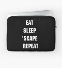 Runescape Eat Sleep Scape Repeat Laptop Sleeve
