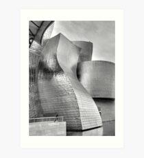 Guggenheim gallery, Bilbao Art Print