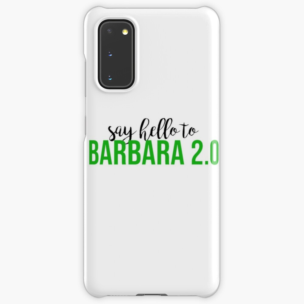 Beetlejuice Barbara 2 0 Case Skin For Samsung Galaxy By Bwayabby Redbubble