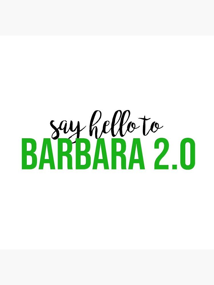 Beetlejuice Barbara 2 0 Greeting Card By Bwayabby Redbubble