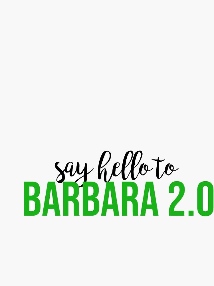 Beetlejuice Barbara 2 0 Sticker By Bwayabby Redbubble
