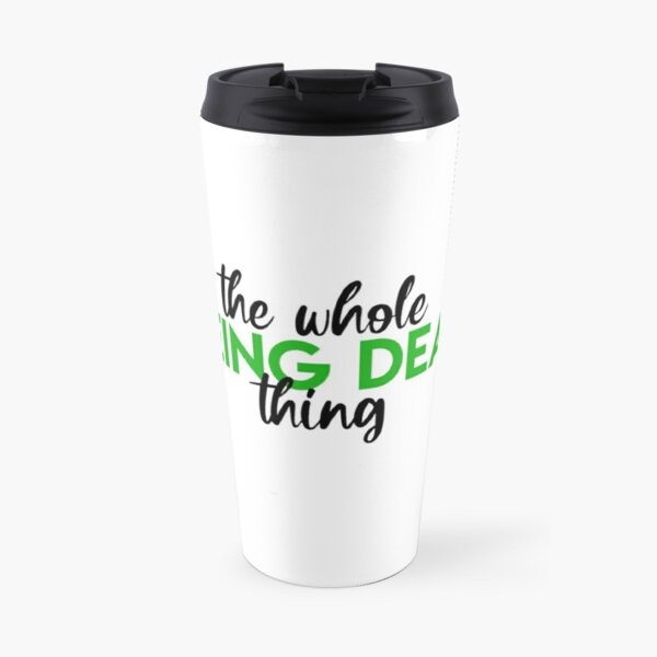 Beetlejuice- The Whole Being Dead Thing Travel Mug