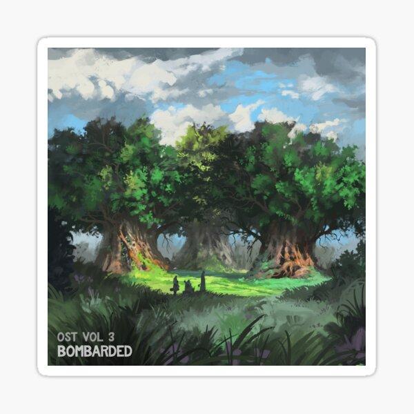 bomBARDed OST Vol. 3 Album Cover Sticker