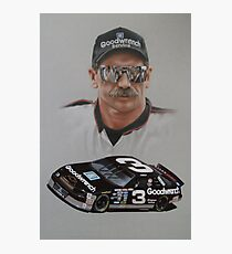 DALE EARNHARDT Photographic Print