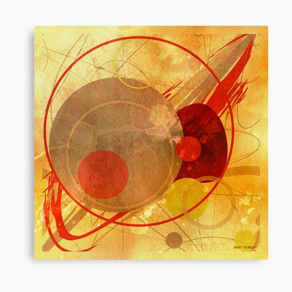 PAINTED CIRCLES Canvas Print