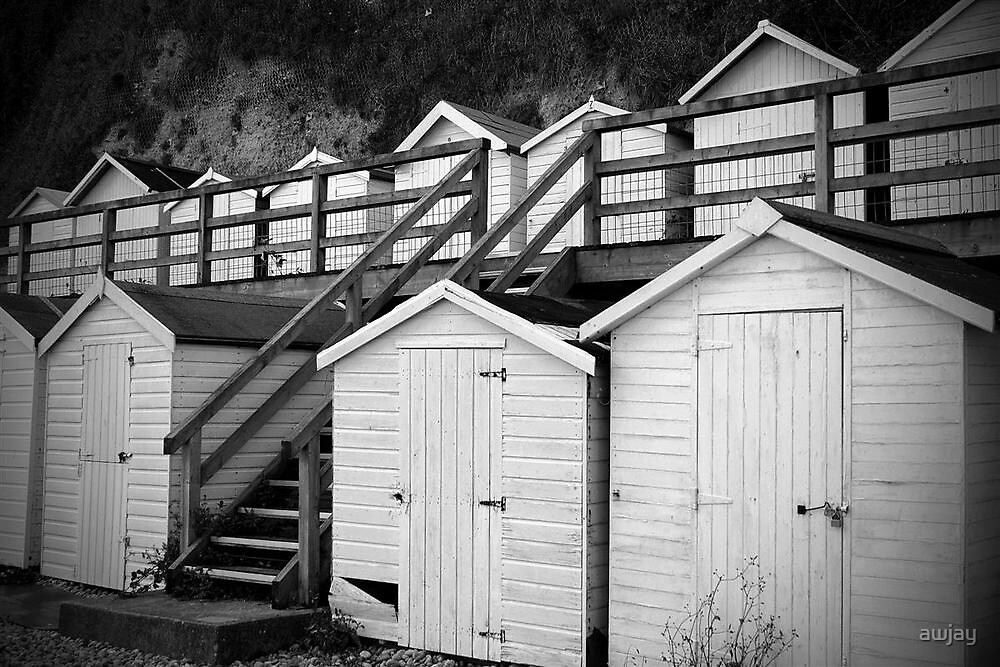 White Beer beach huts by awjay