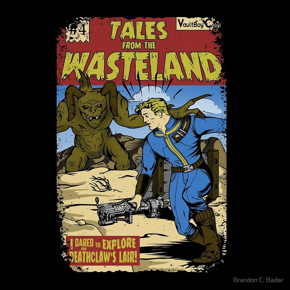 «Tales from the Wasteland» de Brandon C. Bader
