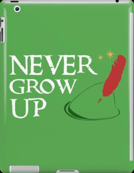 Never Grow Up by Rechenmacher