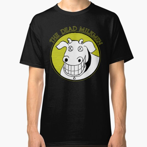 Mens Big Lizard Fitted T-Shirt Dead Milkmen