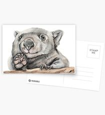 Lucy the Wombat Postcards