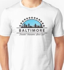 Baltimore Maryland Freaking Awesome Since 1796 Unisex T-Shirt